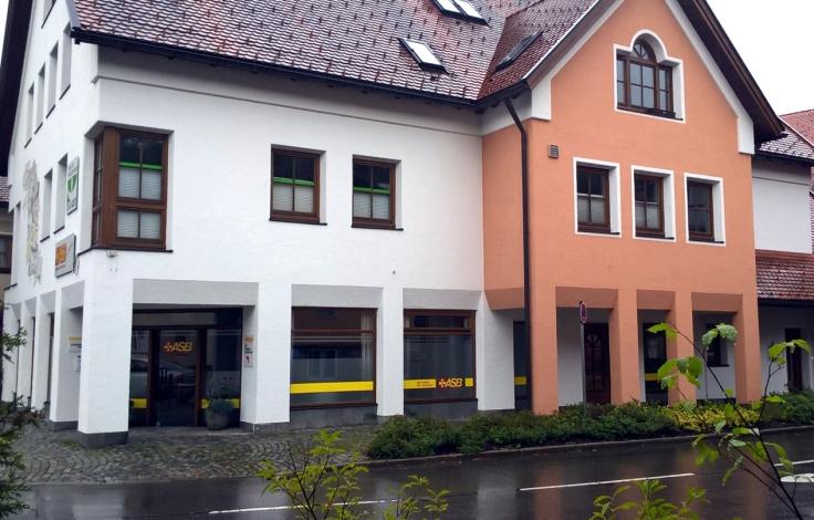 Eingang ASB, Schützenstr. 1, Immenstadt